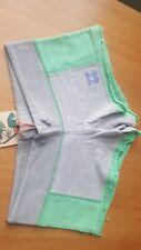 Pacha Brothers Ibiza NWT Terry grey green aquamint shorts XS