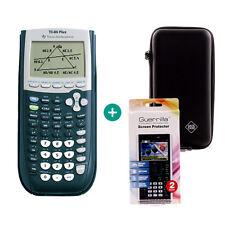 TI 84 Plus Taschenrechner Grafikrechner + Schutztasche und Schutzfolie