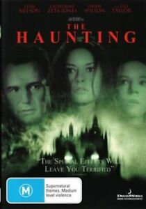 Haunting, The  (DVD) Liam Neeson. Catherine Zeta-Jones. NEW+SEALED -Original