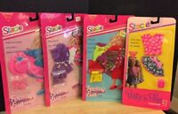 Lot Of 4 Mattel 1992-1993 Barbie - Stacie Feeling  Fun Fashions - A