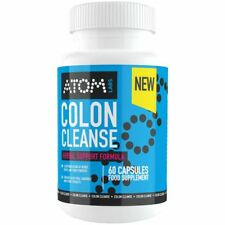 ATOM Colon Cleanse - Natural Detox Formula For Weight Loss - 60 Capsules