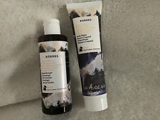 Korres Personal Size Set of Body Butter & Wash( Mulberry Vanilla)1.69&2.7oz NEW