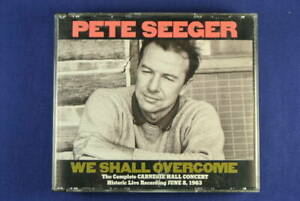 PETE SEEGER We Shall Overcome CD