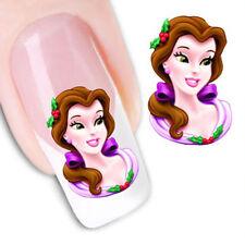 Pegatinas  stickers Nº 17  Princesas  decoración de uñas, nail art FX1241 uñas