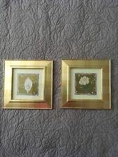 Kate Mawdsley 2 x framed floral prints