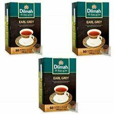 Ceylon Pure Tea Earl Grey Dilmah Brand 4 Box X 50 Tea Bags