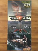 Official Water World & Mega Man Virtual Boy SNES Nintendo Power Poster 1990's