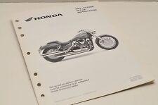 2004 VTX1300C VTX  GENUINE Honda Factory SETUP INSTRUCTIONS PDI MANUAL S0207
