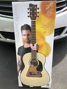Adam Levine First Act Acoustic Guitar
