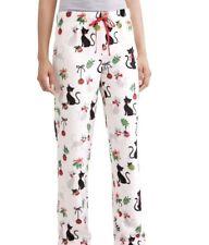 Cat Christmas Pajamas Womens 2X 18W/20W Kittens Ornaments Fleece pants plush