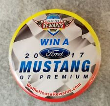 Waffle House 2017 Ford Mustang GT Giveaway Race for Rewards Button