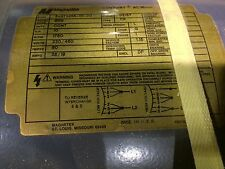Magnetek motor Century AC Motor  Part# 6-373-255-01-00