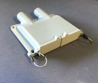 Grey Double Anderson SB50 50amp Plug Surface Cover (External Wire Version)