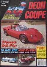 Kitcars International 10/1995 featuring Deon Sports Coupe, Merlin, L&R 3, CHAD