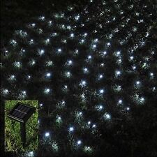 105 LED Outdoor Solar Net String Fairy Light Sun Powered Garden BBQ Summer Party