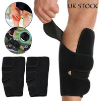 Calf Brace Support Compression Sleeve Leg Stretch Shin Adjust Band Sport Running