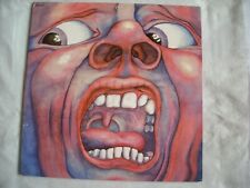 33T. LP .KING CRIMSON . DE 1970. IN THE COURT OF THE CRIMSON KING TRÈS BON ETAT