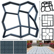 Yard Garden Paving Pavement Mold Patio Concrete Stone Path Walk Maker Mould Tool