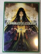 Force Of Will CONGRATULATIONS Promo Card VERY Rare!! Fow TCG CCG Special!!