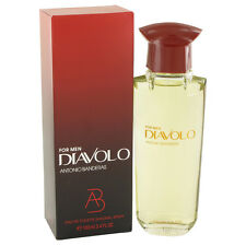 "ANTONIO BANDERAS ""DIAVOLO"" 3.4 oz Eau De Toilette Spray New"