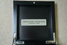 OFFICINE PANERAI WOODEN BOX & CLOTH ONLY (FROM A GMT) DATES FROM 1990'S-2000'S