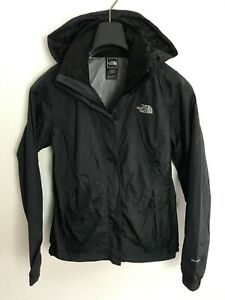 Womens The North Face Jacket / Coat size UK S/M Waterproof Dryvent Black