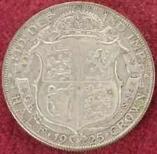 GB Halfcrown 1925 (E1809)