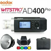 Godox AD400Pro 400Ws 2.4G Wireless TTL GN72 All-in-One Studio Outdoor Flash US