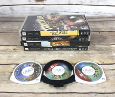 PSP Sony Game Lot Of 7 Medal Of Honor, Open Season, Ratchet & Crank Tomb Raider