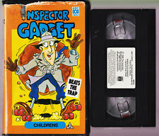 Inspector Gadget Beats The Trap - Abc - Vhs Video Tape Clamshell