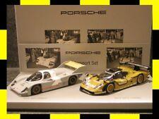 Porsche History Set MOTORSPORT 956 KH 911 GT1 MINICHAMPS 1:43 PROMO NEU