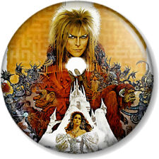 "LABYRINTH MOVIE POSTER 25mm 1"" Pin Button Badge Film DAVID BOWIE THE GOBLIN KING"