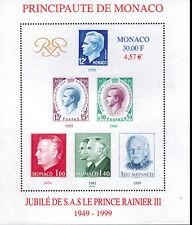 Monaco bloc feuillet N° 83  neufs **