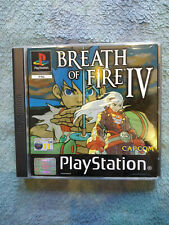 Capcom Breath of Fire IV (4), Game PS1, Sony Playstation Videogame, COMPLETE