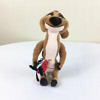 "A19 Vintage Disney Lion King Timon Meerkat Grub Plush! 10"" Stuffed Toy Lovey"
