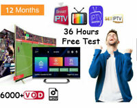 12 Months ptv subscription For Smart Tv Box STBEMU Europe USA Adult channels lot