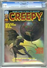 CREEPY #75 1975 WARREN CGC 7.0 KEN KELLY COVER NEAL ADAMS W WOOD TOTH WRIGHTSON