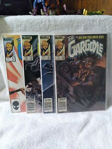 The Gargoyle #1-4 Complete Set (Marvel 1985) Newsstand Bernie Wrighson Covers