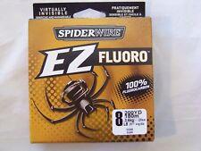 SEZFFS8-15 SPIDERWIRE EZ Fluoro 8LB  200YD 100% Fluorocarbon Fishing Line    449