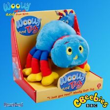 cBeebies Woolly and Tig - Official Woolly Spider Plush Soft Cuddly Toy New Boxed
