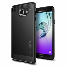 Spigen Galaxy A7 2016 Case Rugged Armor Black