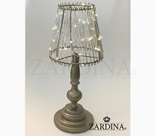 Romantic Quirky Shade LED Lamp Champage
