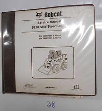 Bobcat S220 Skid-Steer Loader Service Manual 6904154 (11-05)