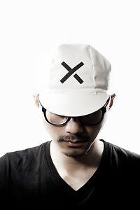 Brand new hiio studio Crossie white cycling cap, Retro Pista Fixie Messanger