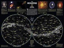 Poster Ciel étoilé NGS Format paysage 79x58cm #100035
