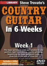 LICK LIBRARY Steve Trovato's COUNTRY GUITAR In 6 WEEKS Learn Vince Gill DVD 1