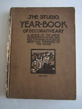 1912 THE STUDIO YEAR-BOOK OF DECORATIVE ART BOOK