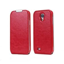 Flip Leather Case Cover For Galaxy S4 Red Rose . Ship From NEW YORK.