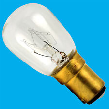 6x 15W Pygmy Appliance Fridge Sewing Machine Hobbyist B15 SBC Light Bulb Lamp