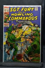 Sgt Fury and His Howling Commandos #63 Marvel Silver Age Comic 1969 Stan Lee 7.0